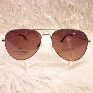 New JUICY COUTURE Sunglasses Aviator Silver